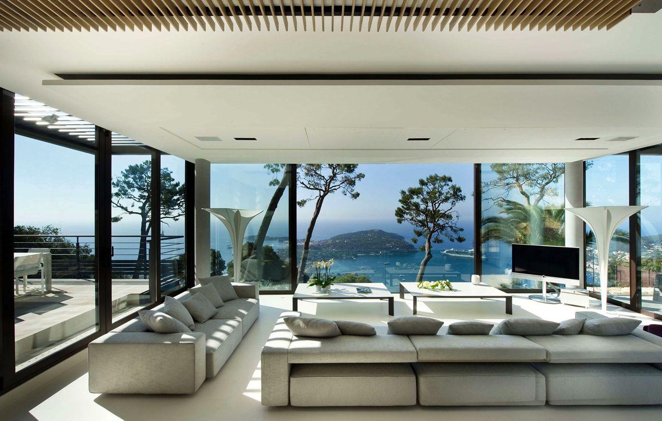 Favori Maison-de-Luxe-Moderne-Interieur | Hlm Grand Yoff XO23