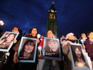 Aboriginal women's vigil