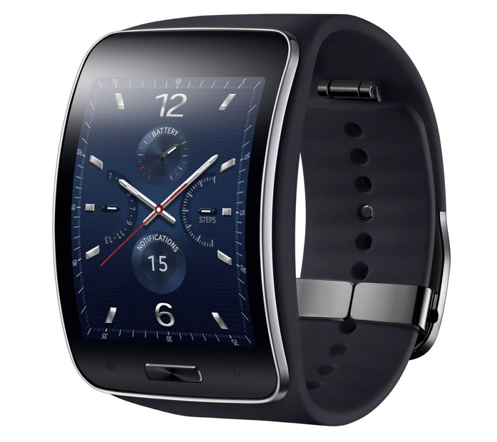 Samsung dévoile la Gear S, sa première montre-téléphone (1/2)