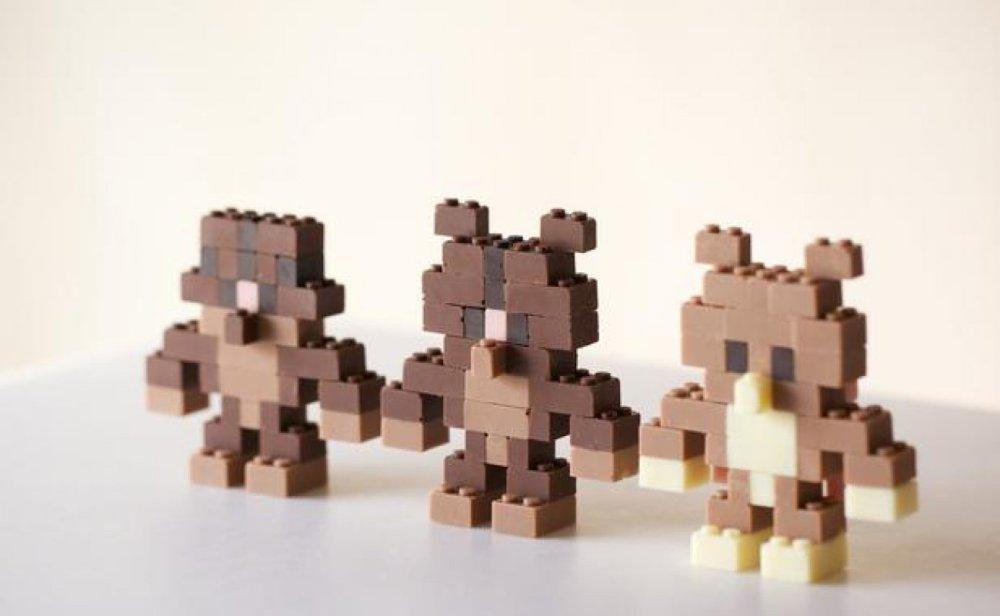 UN JAPONAIS VIENT D'INVENTER DES LEGOS EN CHOCOLAT ! (1/2)